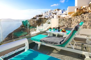 location ventus paradiso villa in santorini